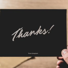 Tip 87. Send a written Thank You note.