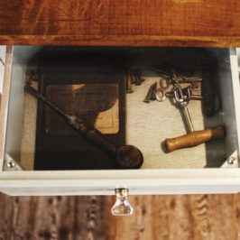 Tip 153. Junk your Junk Drawer.