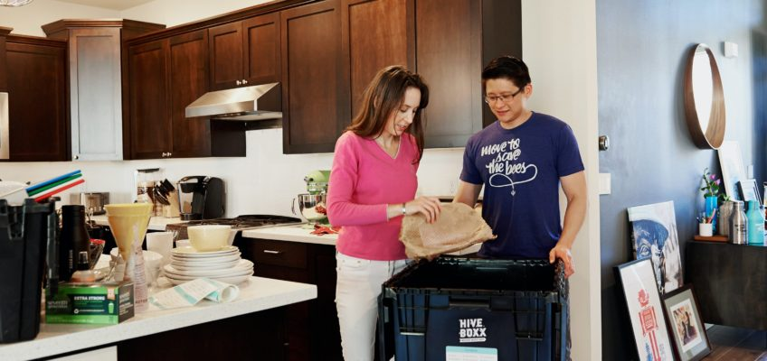 Tip 178. Pack a box for each specific area when you move.